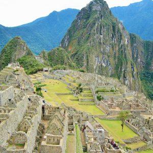 Famed Machu Picchu in Peru