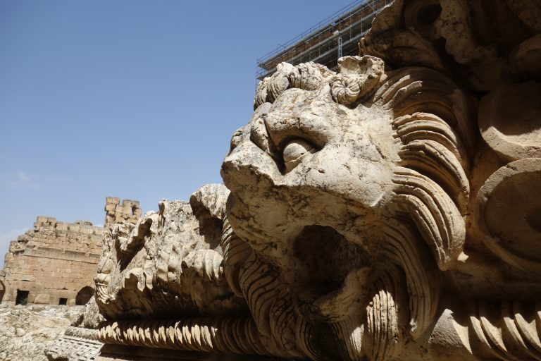 Stone Lion in Baalbek