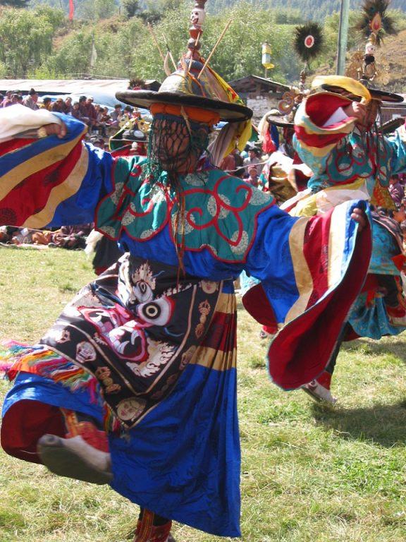 Thimphu festival, Bhutan
