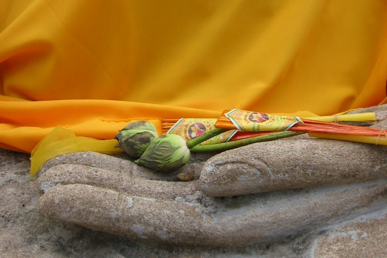 Buddha Hand Bangkok Thailand