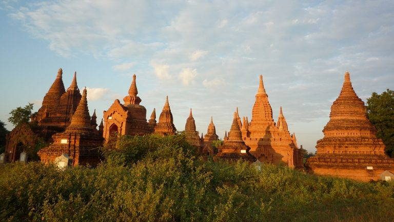 Bagan temple complex in Burma