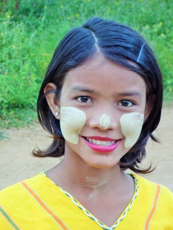 Burma -young-girl