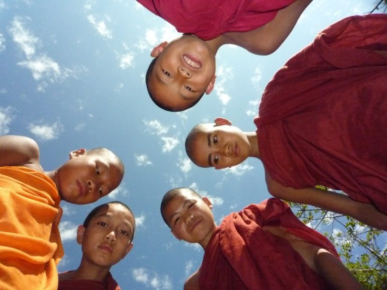 Burma -young-monks