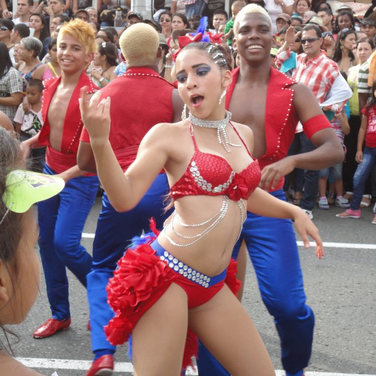 Dancers at La Feria de Cali, Colombia