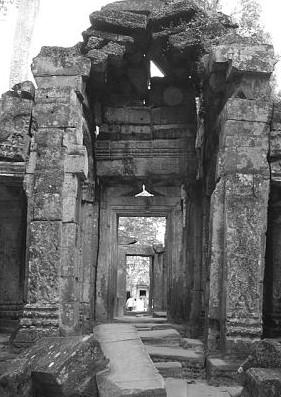 Cambodia, Angkor Wat -portal
