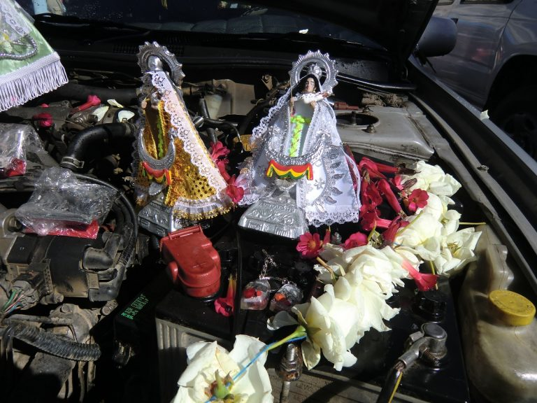 Car-blessing Ceremony, Copacabana, Bolivia