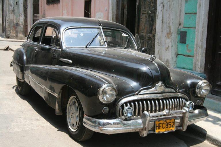 Black car, Havana Cuba