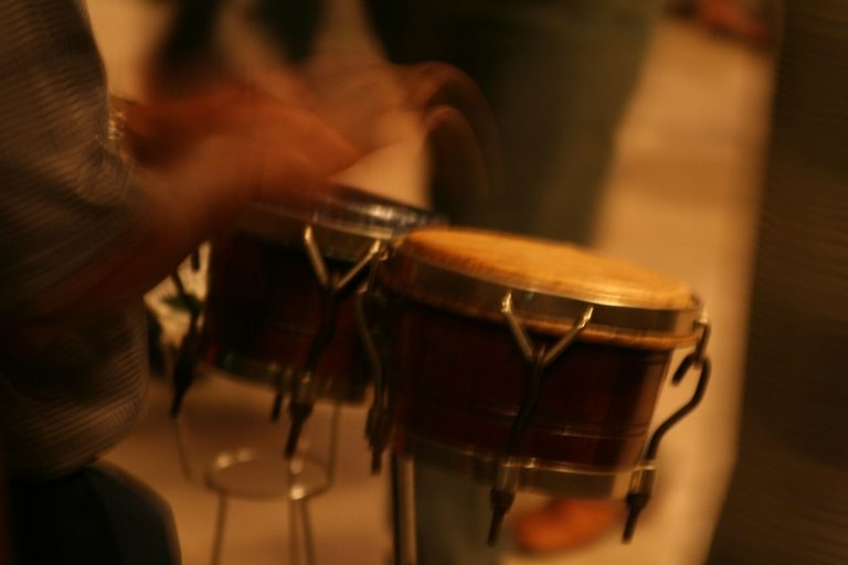 salsa drums