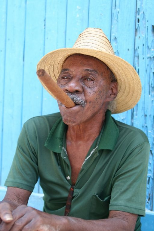 Cuban man with cigar