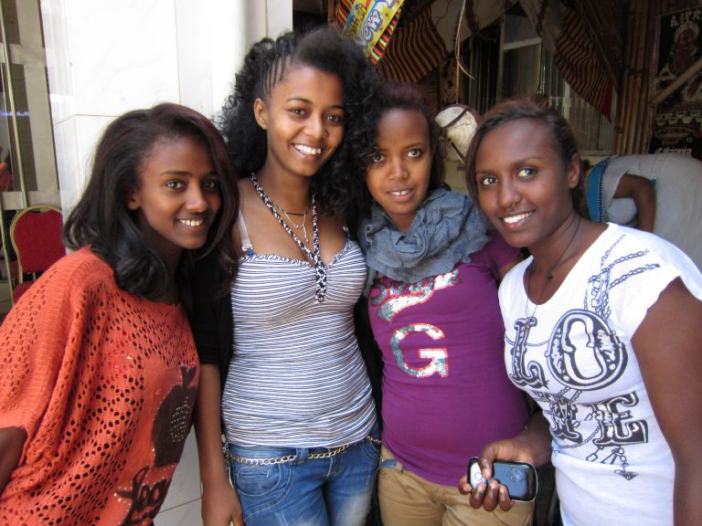 Ethiopia, beautiful-young-women