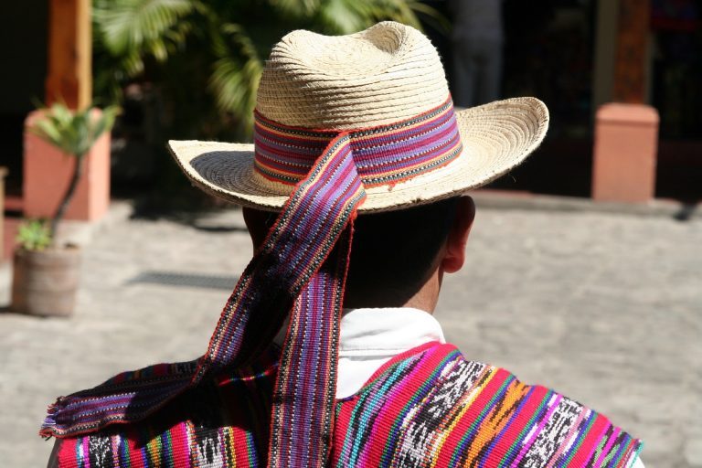ribbon on boys hat