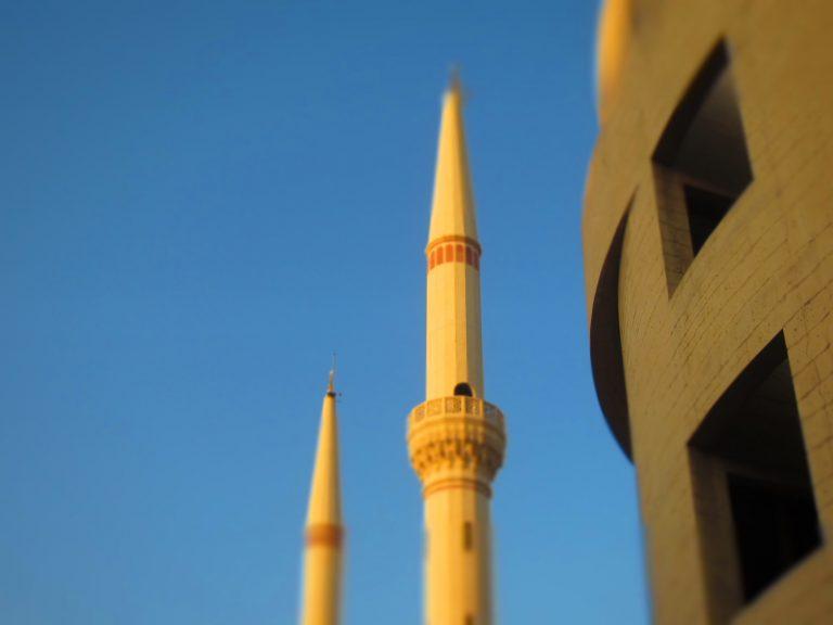 minaret in Dubai