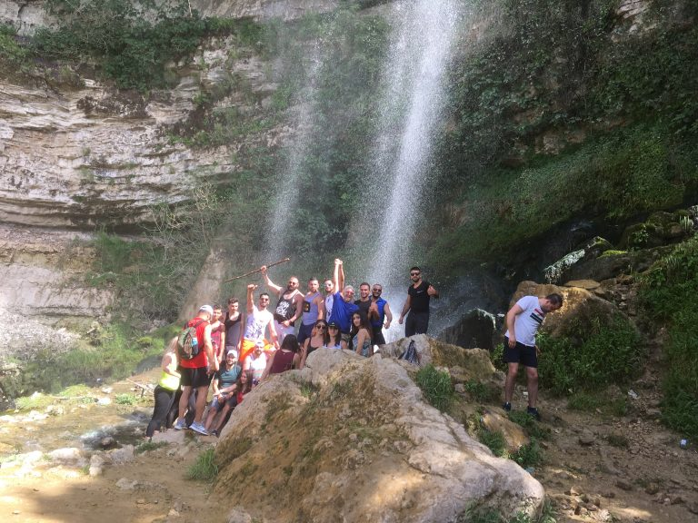 Jezzine Waterfall in Lebanon