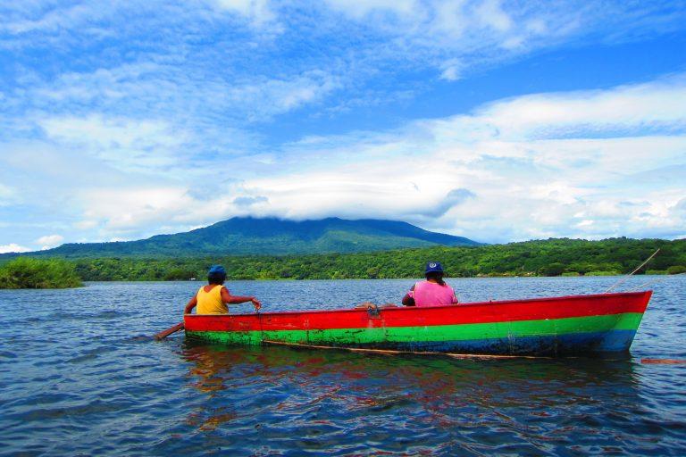 Lake in Nicaragua