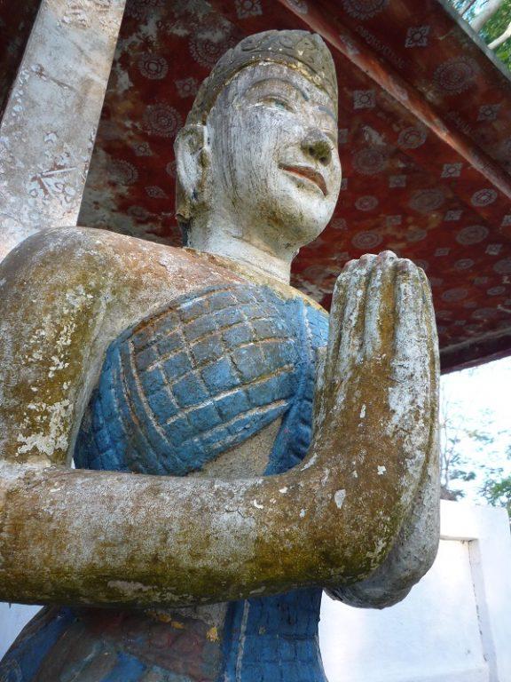 Laos, statue