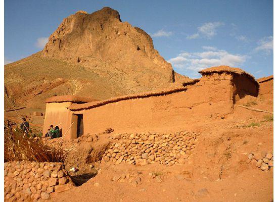 Morocco, Berber home
