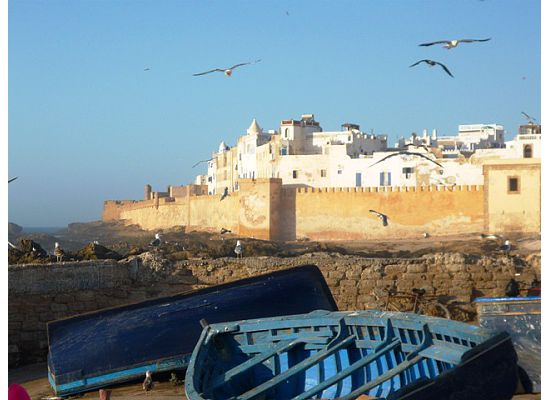 Morocco, Eassaouria -castle