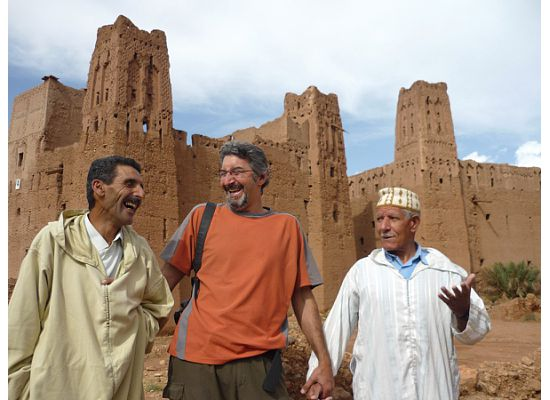 Morocco, Kasbah friends