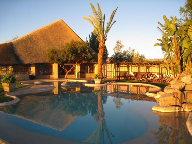 Namibia, hotel