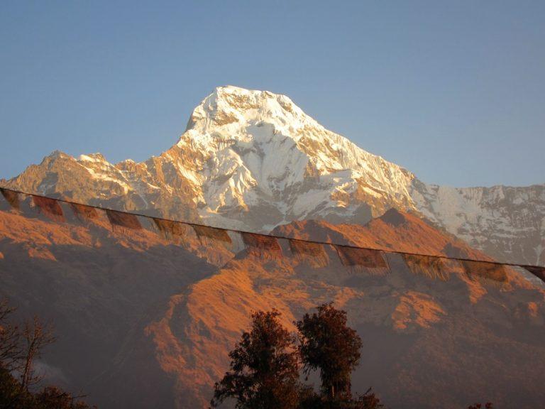Nepal - Annapurna range