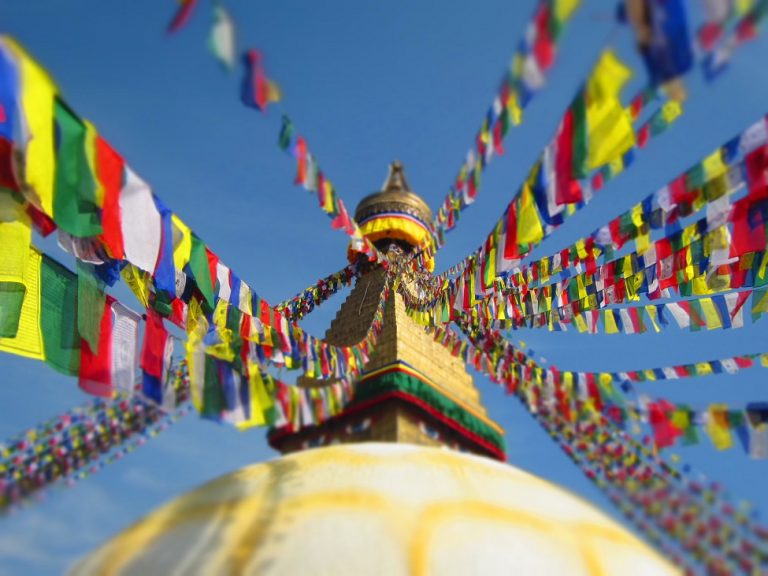 Nepal - prayer-flags