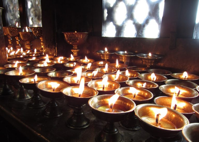 Nepal - tea-lights