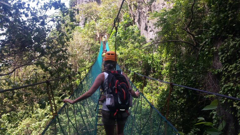 Palawan -suspension-bridge