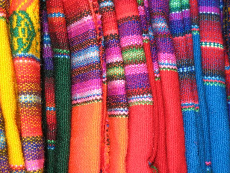 blankets, Peru