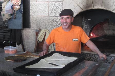 Pizza in Palestine