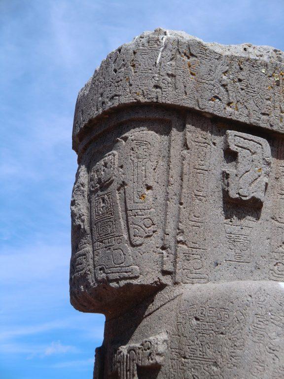 Pre-Colombian statue