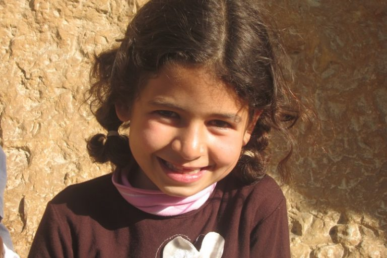 Young Palestinian girl