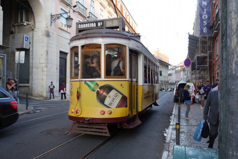 Steetcar, Lisbon, Portugal