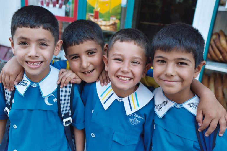 School children in Turkey