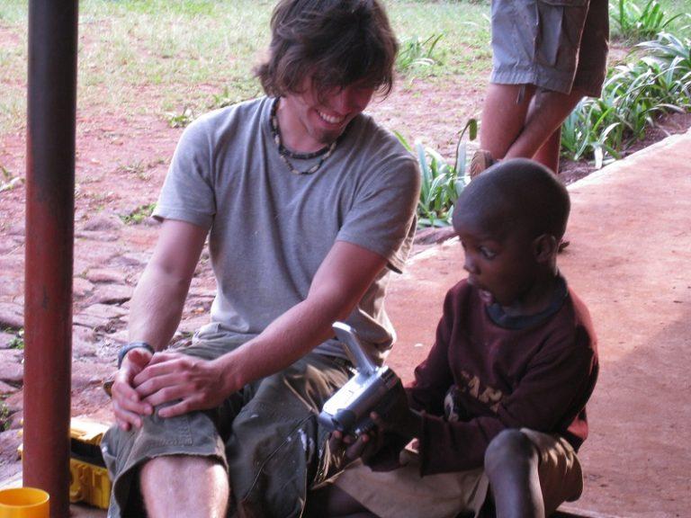 Uganda, Bugagali, volunteer2