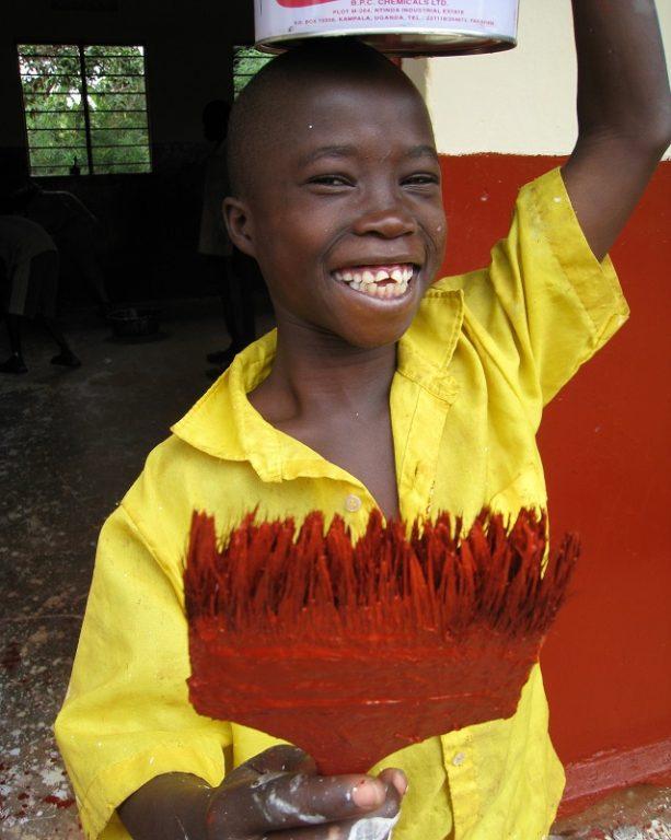 Uganda, Bugagali, volunteer3