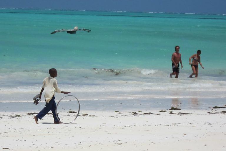 Zanzibar, Tanzania -boy-on-beach