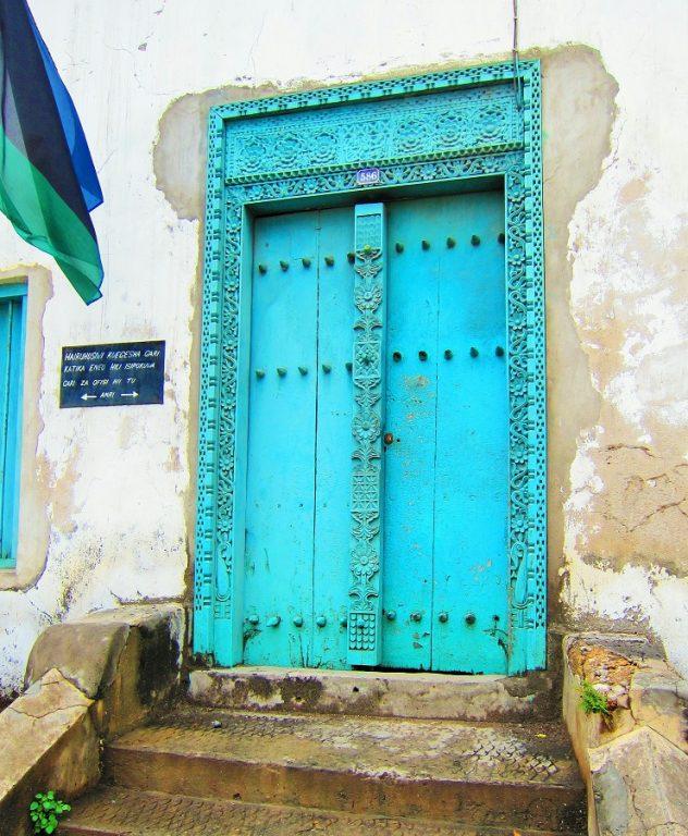 Zanzibar, Tanzania -door