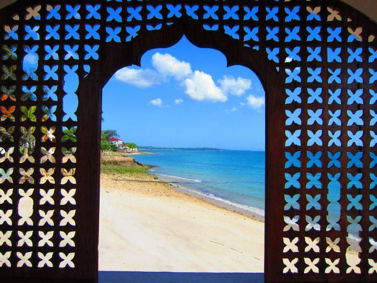 Zanzibar, Tanzania -gate