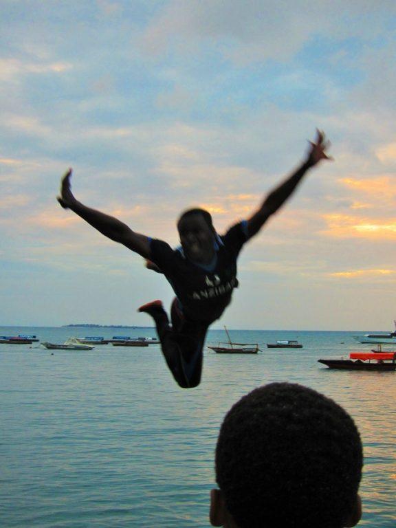 Zanzibar, Tanzania -jump