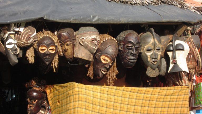 Zanzibar, Tanzania -masks