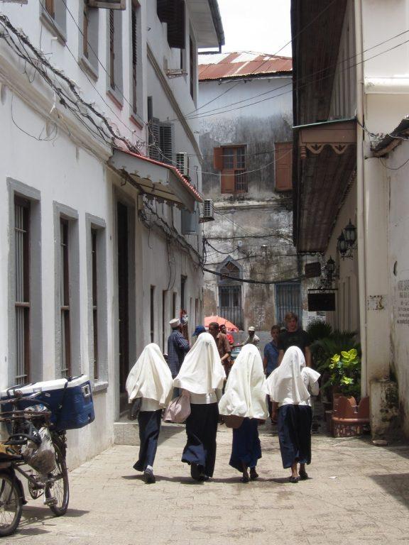 Zanzibar, Tanzania -schoolgirls