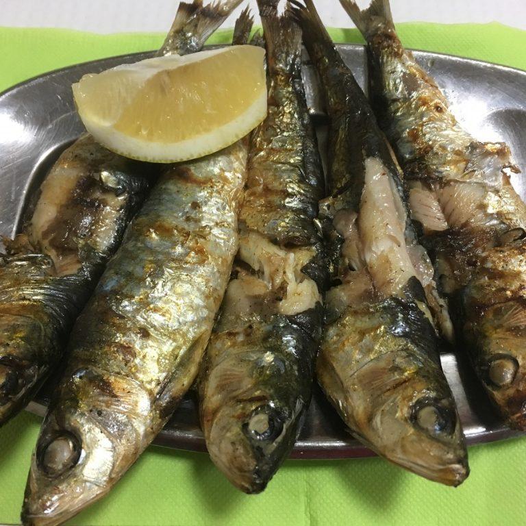 plate of sardines