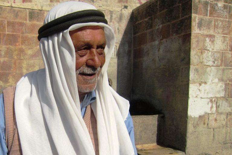 friendly Palestinian man