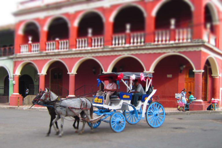 horse cart, Nicaragua