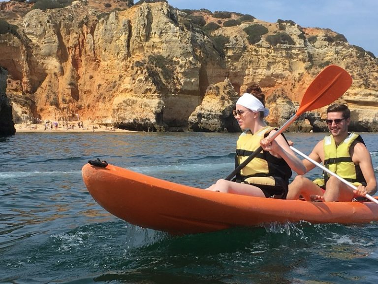kayaking Lagos, Algarve