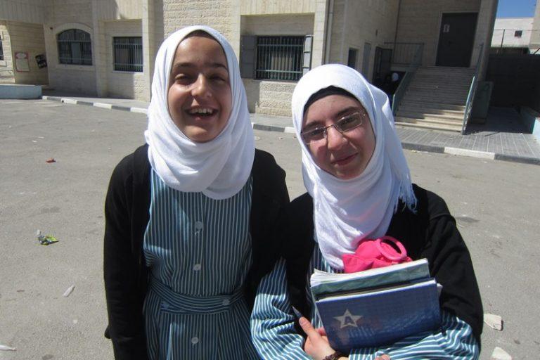 two young Palestinain students